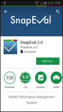 SnapEval App in Google Play